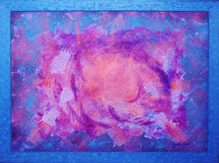 quadro il respiro dell'universo Alessia Pignatelli