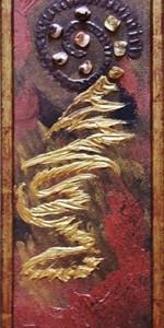 quadro opera pittorica il sentiero della vita Alessia Pignatelli