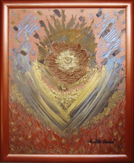 quadro la fonte della gloria Alessia Pignatelli