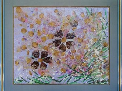 quadro opera pittorica la natura Alessia Pignatelli
