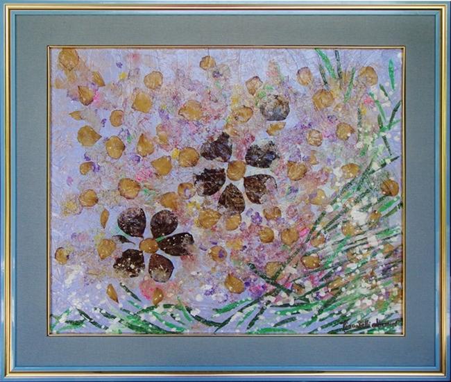 quadro opera pittorica la natura di Catignano Alessia Pignatelli