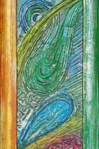 quadro opera pittorica l'arcobaleno della felicità Alessia Pignatelli