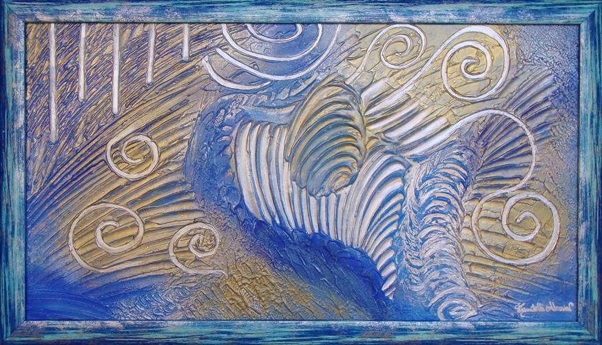 quadro l'armonia degli angeli Alessia Pignatelli