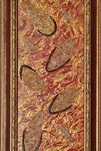 quadro opera pittorica le tracce dei sogni Alessia Pignatelli